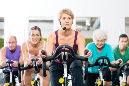 Indoor-Cycling, Spinning